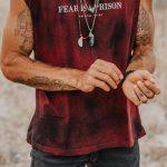 regatão fear is a prision – Tamanho: PP-1499954158