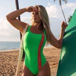 body/maiô lime and coral-847030239