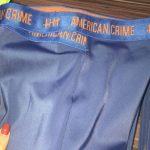 short elástico cruzado cobalt blue and orange – Tamanho: P-2045073049