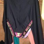 Macacão Black and Tricolor – Tamanho: P-798388760