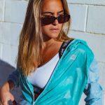 corta-vento bicolor green and blue – Tamanho: P-320242783
